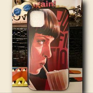 Five Dollar Milkshake Pulp Fiction IPhone Case